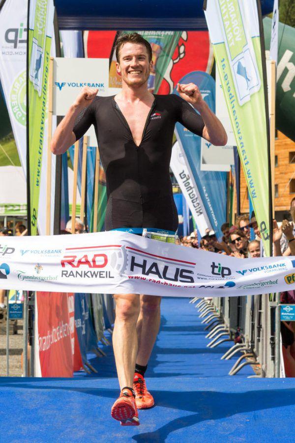 Die strahlenden Sieger Thomas Steger (l.) und Yvonne Van Vlerken. Auch für Martin Bader war Platz zwei keine Niederlage (unten).