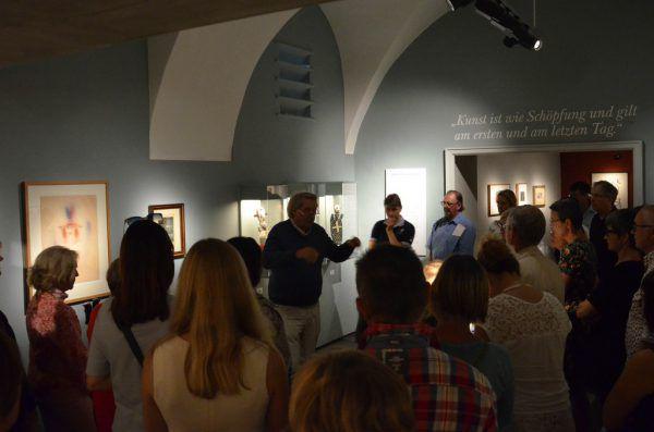 Die Vermittlungsarbeit ist ein zentraler Aspekt der großen Lindauer Sommerausstellungen.Kulturamt Lindau