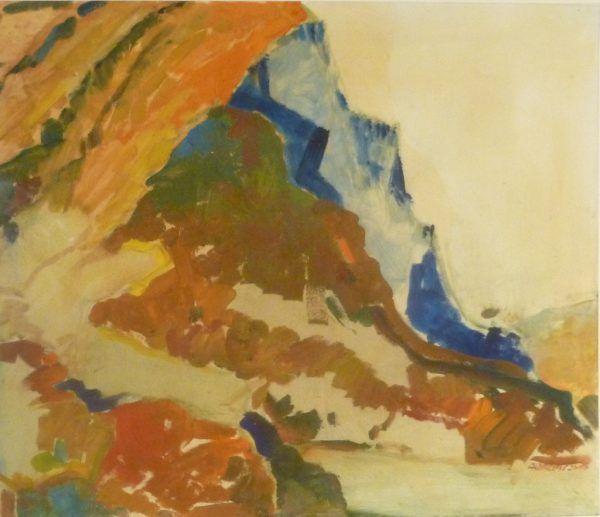 Ein Werk von Herbert Albrecht.Alps Hoamat