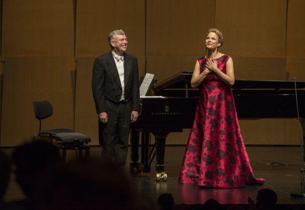 Elina Garanca mit Malcolm Martineau.Salzburger Festspiele/Marco Borelli