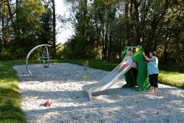 """In Zusammenarbeit mit Hilti-Verantwortlichen entstand die """"Kleinkinder-Zone"""".Stadt Dornbirn"""