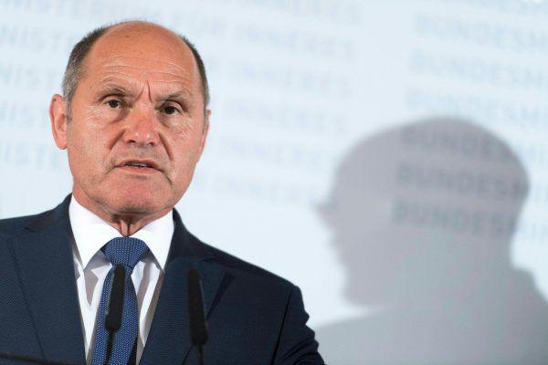 Innenminister Wolfgang Sobotka spricht sich für Grenzkontrollen im Schengenraum aus. MICHAEL GRUBER