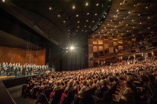 Jubel im Großen Festspielhaus in Salzburg. Festspiele/Borrelli