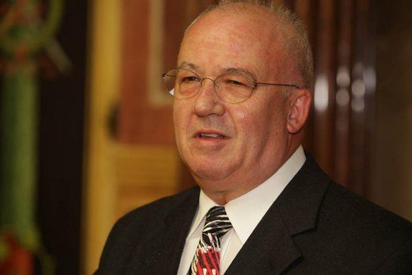 Jürgen Weiss bei der Verabschiedung in die Pension im Jahre 2009.Archiv/Neue