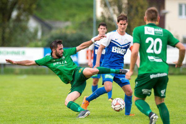 Mit durchwegs guten Haltungsnoten kam der DSV zu einem klaren 6:1-Cupsieg beim FC Kennelbach.Dietmar Stiplovsek