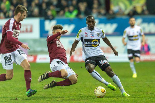 Nicolas Moumi Ngamaleu wird heute im Duell gegen Mattersburg nicht mehr dabei sein.Dietmar Stiplovsek