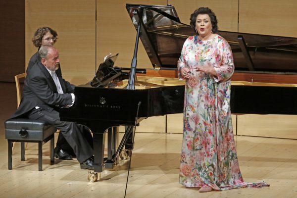 Opernsängerin Violeta Urmana begeisterte auch als Liedsängerin. Schubertiade