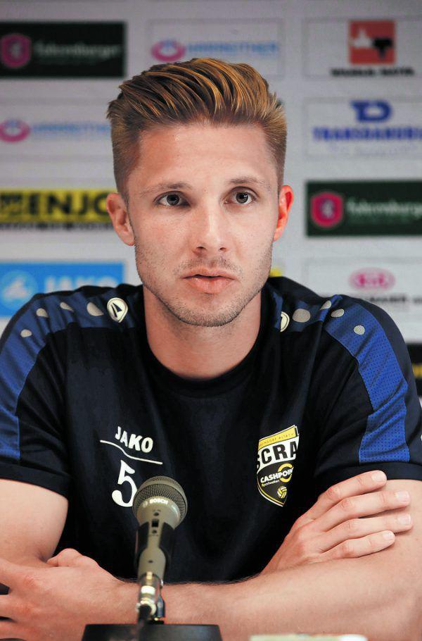 Philipp Netzer meldet sich für das Spiel gegen die Israelis wieder fit und wird Altach in Innsbruck als Kapitän aufs Feld führen.GEPA