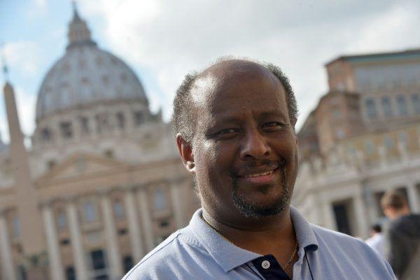 Priester Mussie Zerai steht unter Verdacht.AFP