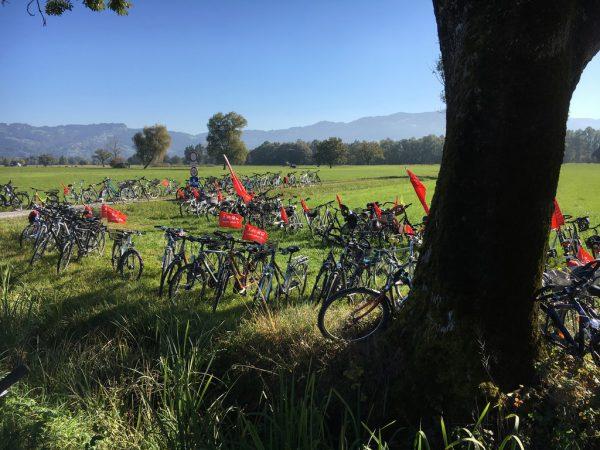 Ried-Rad-Tag ist am 30. September 2017.plan b