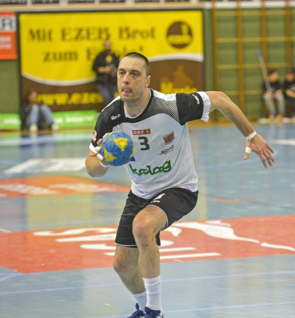 Risto Arnaudovski spielte in der Vorsaison noch für Ferlach.Gepa