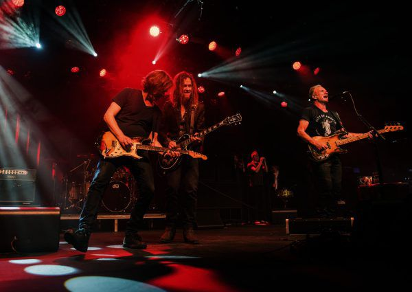 Sting und seine Begleitband werden zum OpenAir in Rankweil erwartet. Mit dabei ist auch Stings Sohn Joe Sumner. Tourfoto/Rebecca Blissett