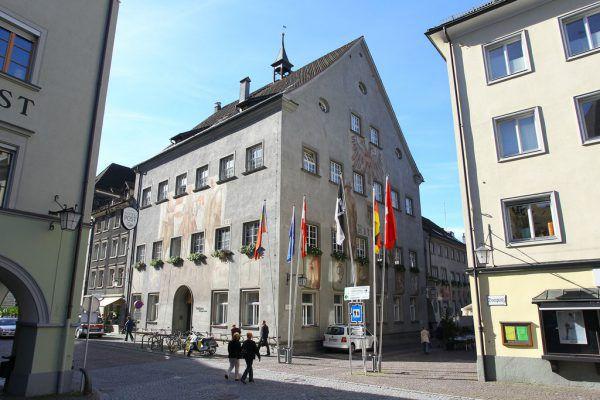 Der Haussegen im Feldkircher Rathaus hängt schief.Hofmeister