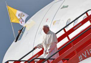 Mit dem Papst durch die Lüfte