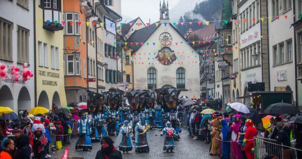 Am Sonntag geht in Feldkirch der Faschingsumzug über die Bühne.Steurer