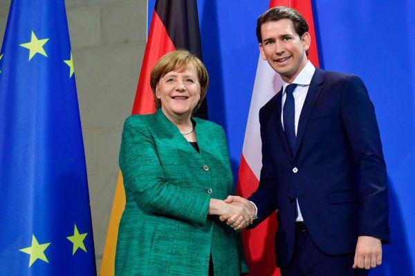 """Angela Merkel sah beim Treffen """"wenig Trennendes"""". APA/AFP"""