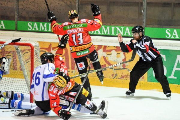 Birnstill besorgte die 1:0- Führung. Oliver Lerch