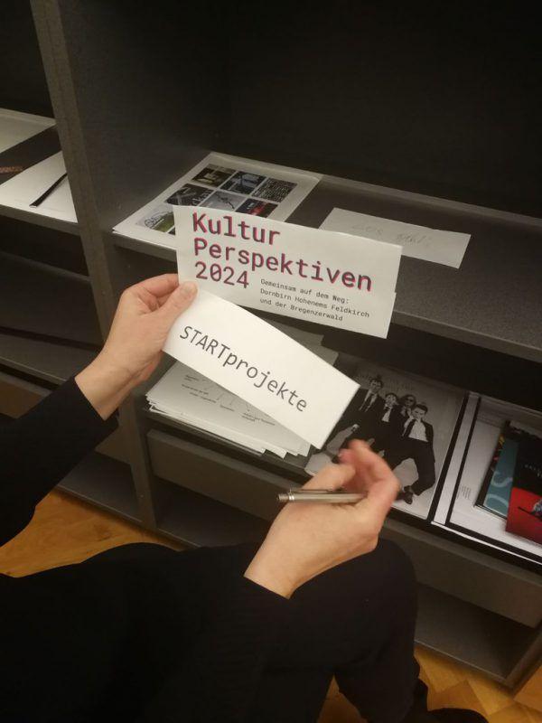 """Das """"Kultur Perspektiven 2024""""-Team ruft Interessierte auf, Projekte einzureichen. Stadt Dornbirn"""