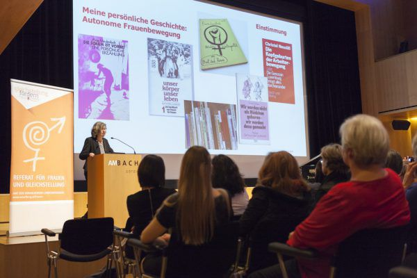 Dr. Birgit Buchinger hielt beim Neujahrsempfang der Frauen den gut besuchten Festvortrag. Schedler (5)