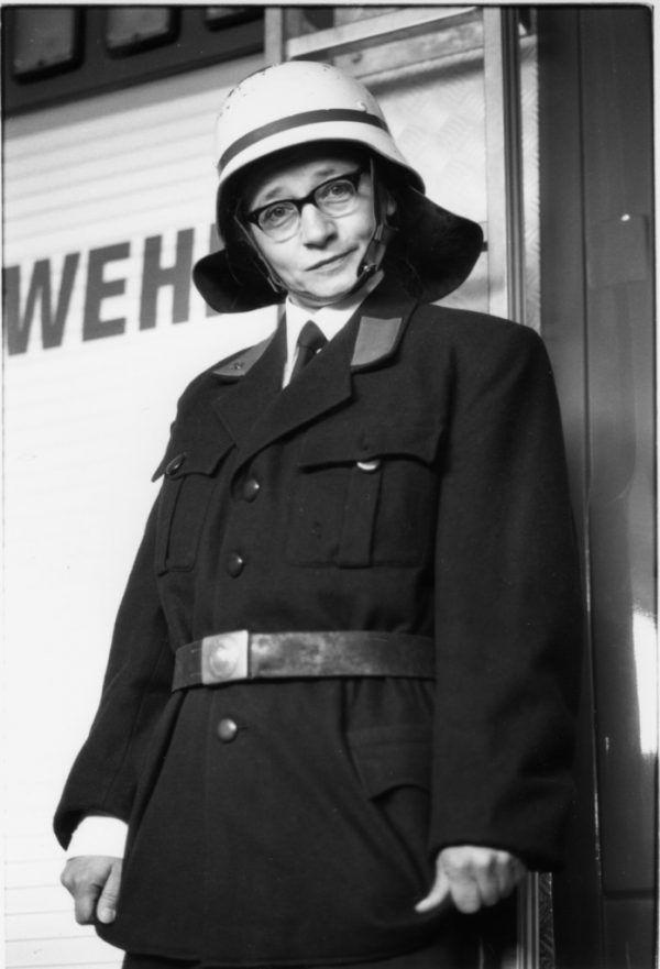 Elke Maria Riedmann als Brenda Feuerle. Riedmann