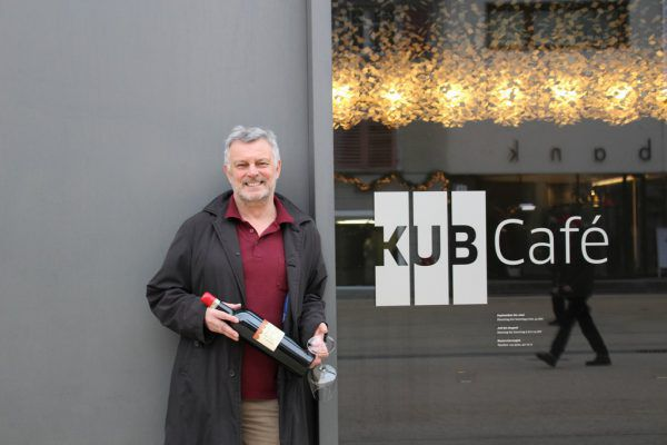 Gerhard Rainalter übernimmt das KUB-Café.Kunsthaus Bregenz