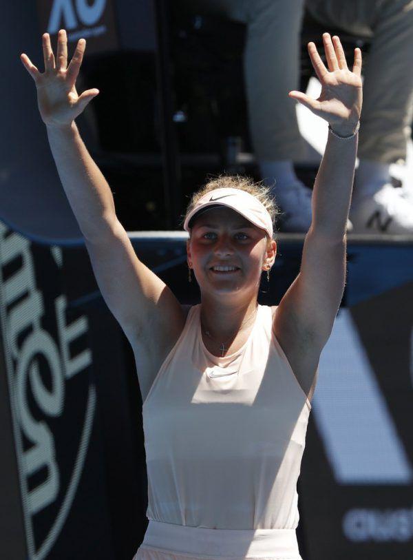 Marta Kostyuk überraschte.AP