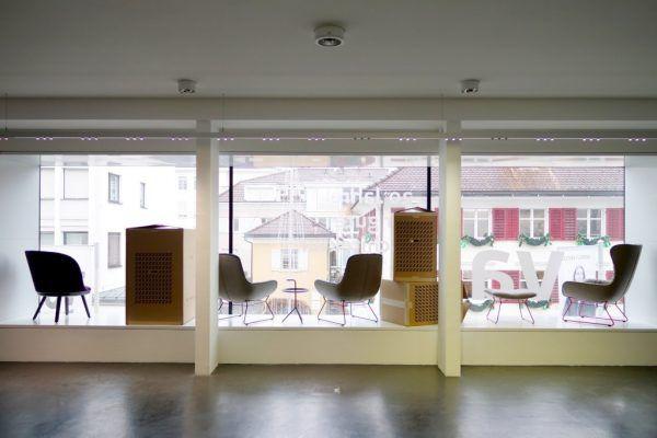 Neue Möbel für die Besucher des vai. David Prax GmbH