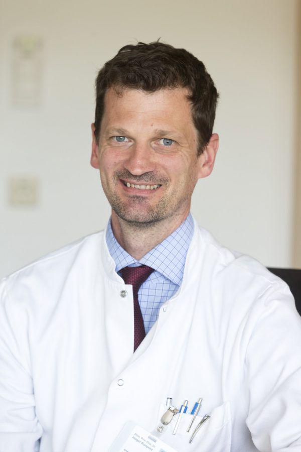 Onkologe Primar Holger Rumpold vom LKH Feldkirch. Mathis