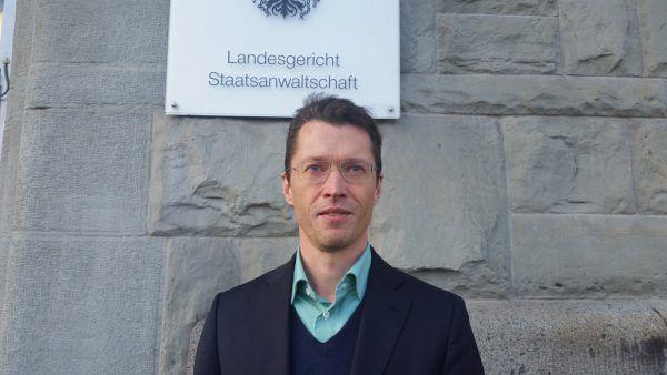 Asylrecht-Experte Stefan Harg. Dünser