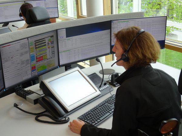 460 Anrufe pro Tag verzeichnete die Landesleitzentrale Vorarlberg seit Inbetriebnahme des neuen Systems.Symbolbild