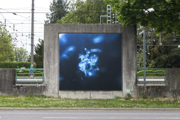 Alicia Frankovich hat die aktuellen KUB-Billboards gestaltet.Markus Tretter , Courtesy of the artist © Alicia Frankovich, Kunsthaus Bregenz
