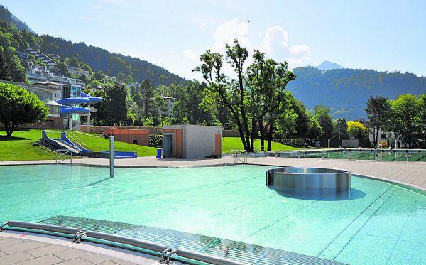 Am Freitag wird im neuen Freibad im Rahmen eines Tags der offenen Tür die Badesaison eröffnet.Stadt Bludenz