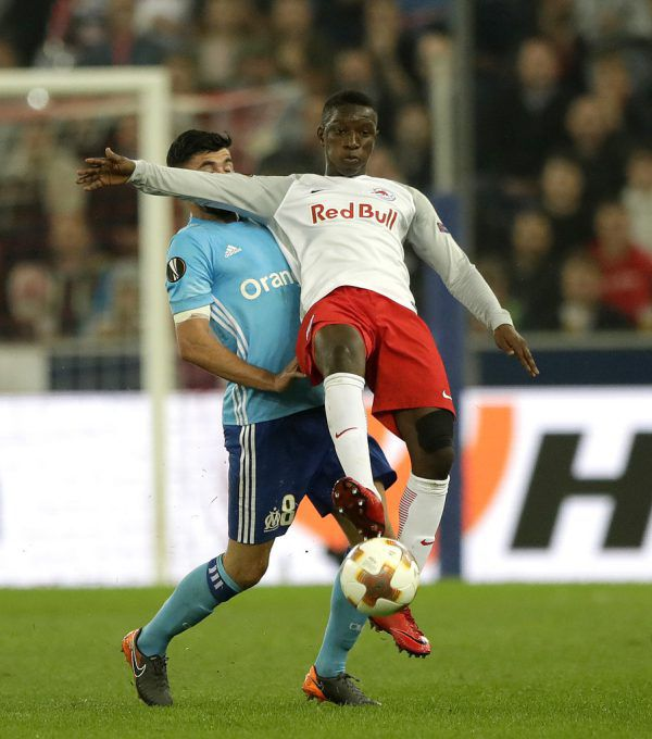 Amadou Haidara spielte starke 90 Minuten.AP