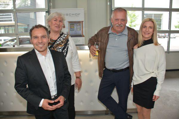 Andreas mit Mama Ingrid, Norbert und Schwiegertochter Nadja Bischof (v.l.). Fritz-Pinggera (5)