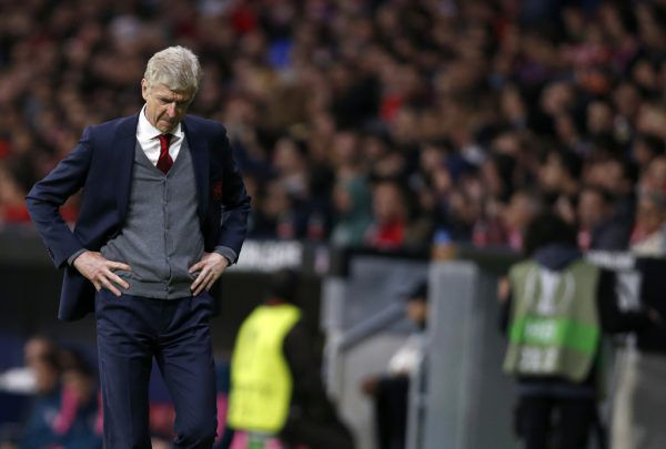 Arsene Wenger verabschiedet sich mit Saisonende aus London.AP