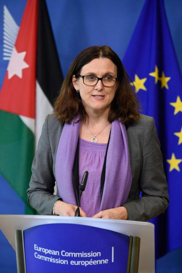 Cecilia Malmström.AFP/ JOHN THYS