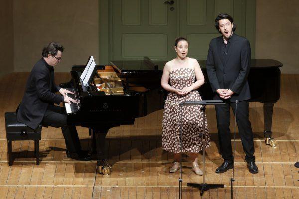 Christina Landshamer und Andrè Schuen boten große Liedkunst.Schubertiade