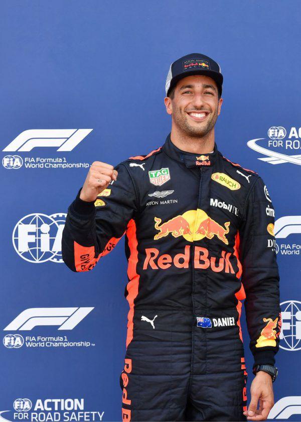 Daniel Ricciardo ist nun auch der Favorit auf den Sieg.AFP