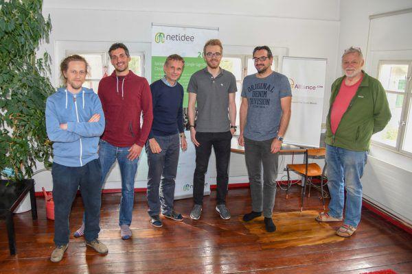 Das fairkom-Team arbeitet mit und an Open-Source-Programmen. Oliver Lerch (4)
