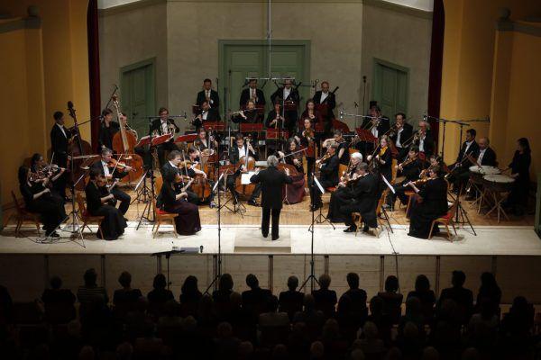 Das Linzer L'Orfeo Barockorchester in Hohenems. Schubertiade