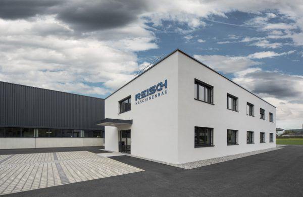 Das neue Gebäude.Pius Pichler