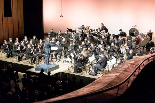 Das Sinfonische Blasorchester Vorarlberg. Archiv/Rhomberg