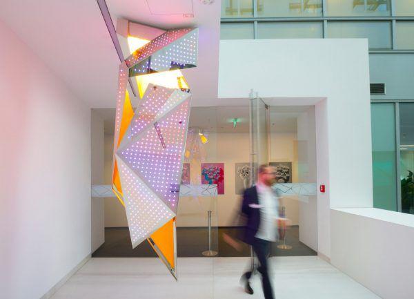 """Das """"Zumtobel Masterpiece"""" des Architekten Daniel Libeskind ist aktuell im Lichtzentrum zu sehen.Zumtobel Group"""