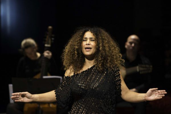 Die tunesische Sängerin Ghalia Benali.Ghalia Benali