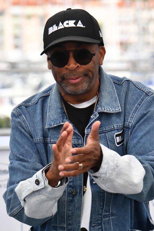 Filmemacher Spike Lee in Cannes. APA/AFP