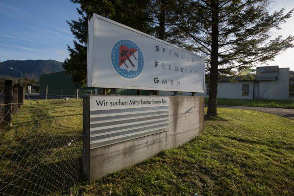 Im Bereich der Spinnerei Feldkirch soll ein Außenlager des Höchster Unternehmens Grass eingerichtet werden.Klaus Hartinger