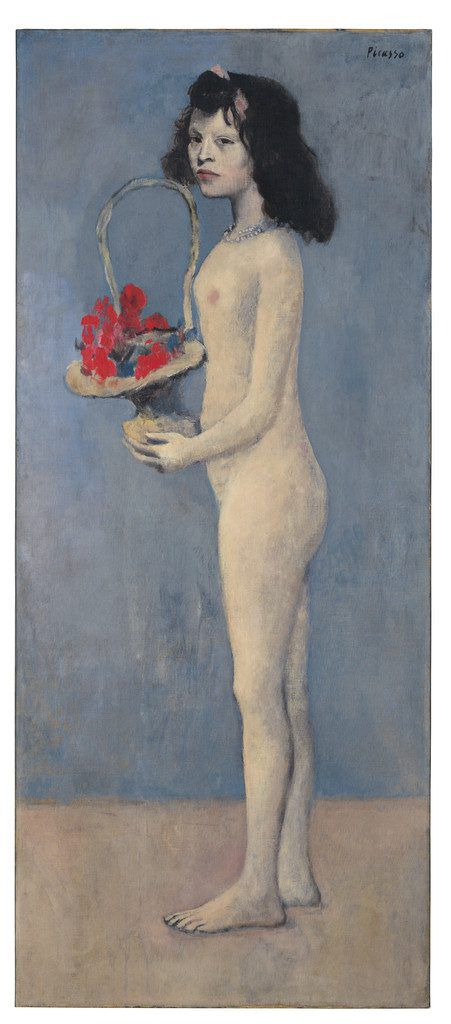 """""""Junges Mädchen mit Blumenkorb"""", 1905.Christie's Images Ltd. 2018"""