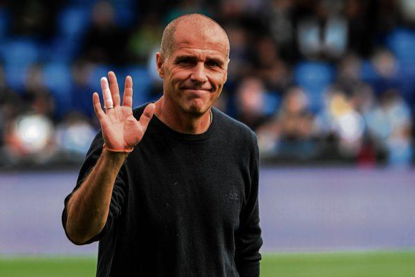 Klaus Schmidt verabschiedet sich aus Altach. Das Spiel am Sonntag gegen Sturm wird das letzte als Trainer der Rheindörfler sein.GEPA/Lerch