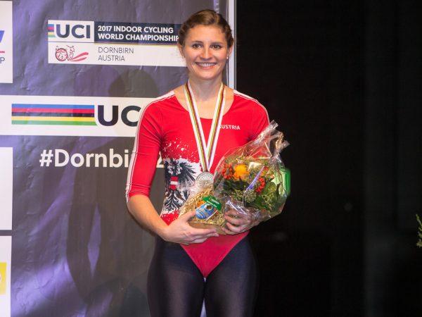 Medaillen-Hoffnung: Adriana Mathis.Stiplovsek