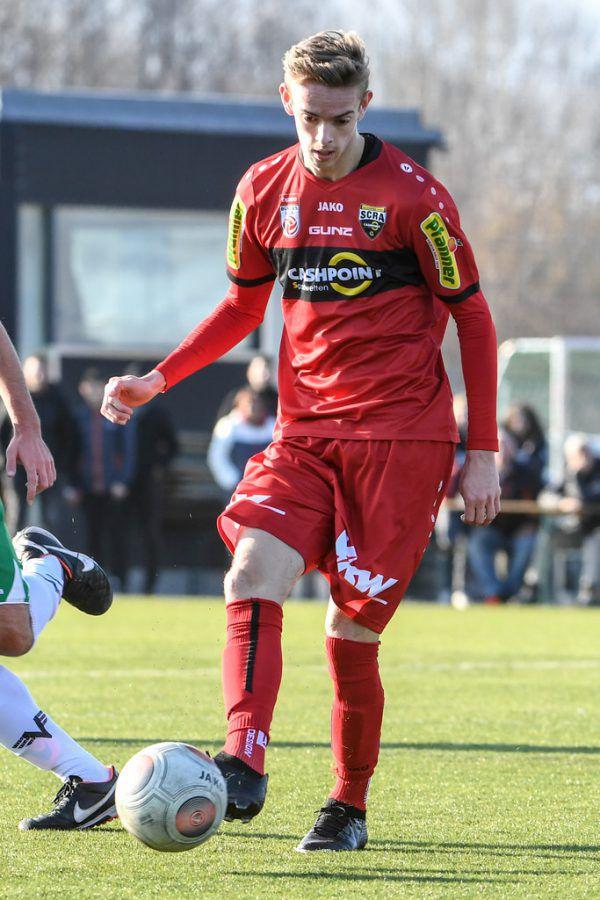 Nußbaumer machte drei Bundesligaspiele für Altach. In der Regionalliga absolvierte er heuer 16 Spiele (4 Tore, 9 Vorlagen).GEPA/Lerch